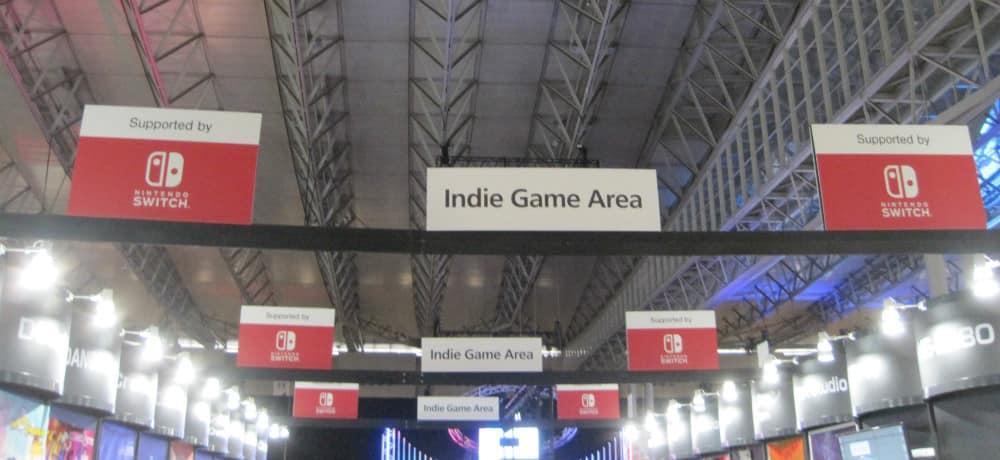 「東京ゲームショウ」インディーズゲームエリアは任天堂がスポンサー